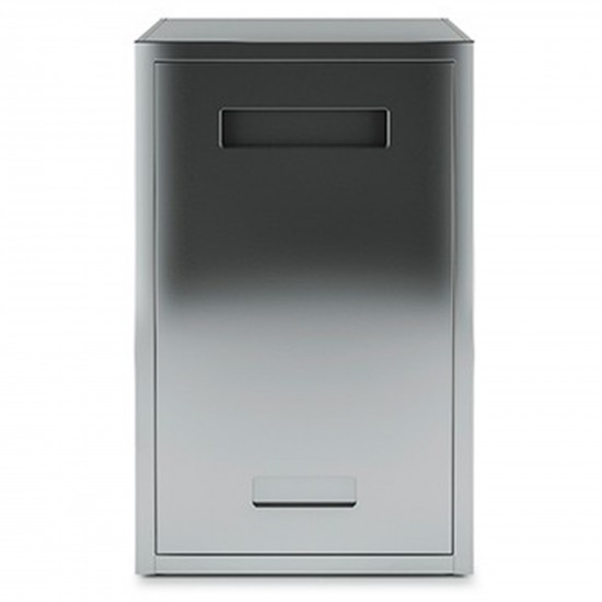 Röshults Open Kitchen Cabinet f. Tank 50 Brushed Stainless Steel