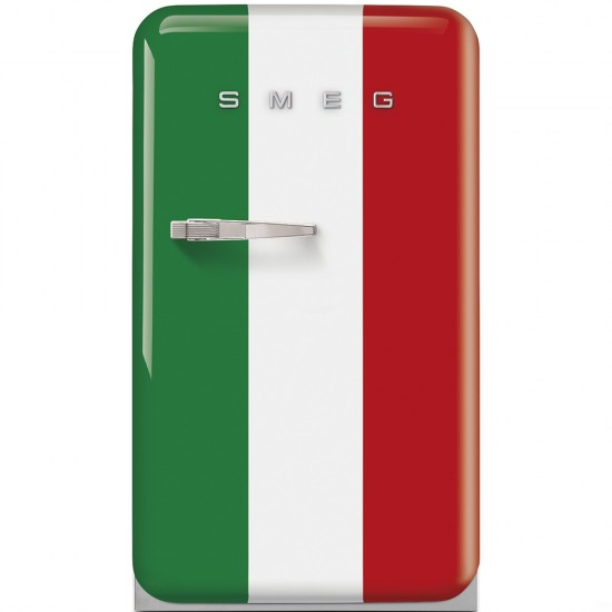 SMEG FRIDGE ITALIAN FLAG 50'S RETRO STYLE