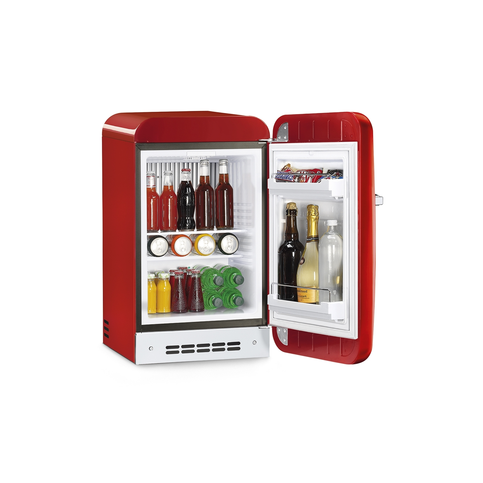 Smeg Minibar 50 S Retro Style Red Tattahome