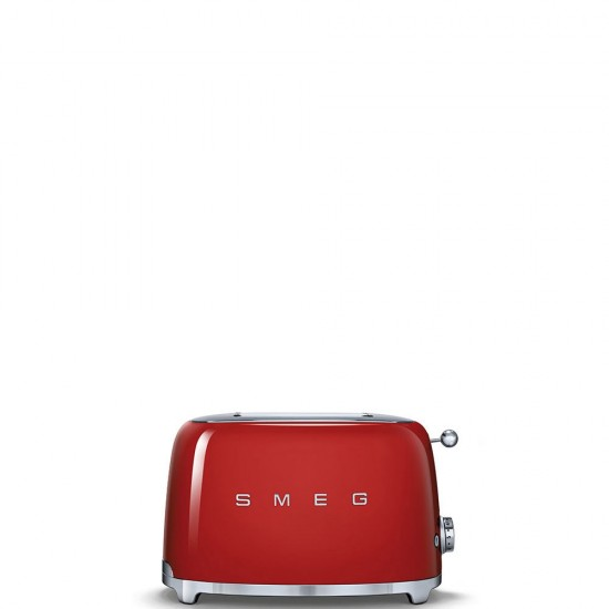 SMEG 2 SLICE TOASTERS RED