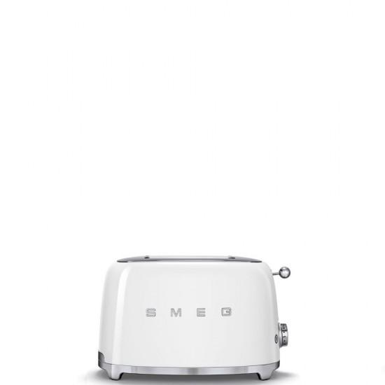 SMEG 2 SLICE TOASTERS  WHITE