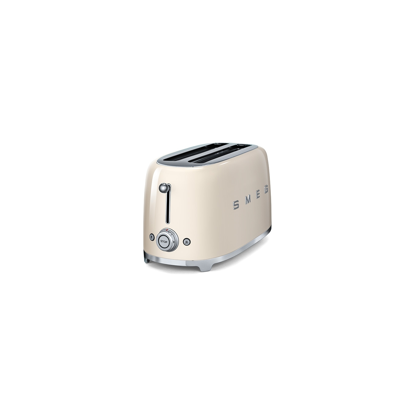 smeg 4 slice toasters cream tattahome. Black Bedroom Furniture Sets. Home Design Ideas