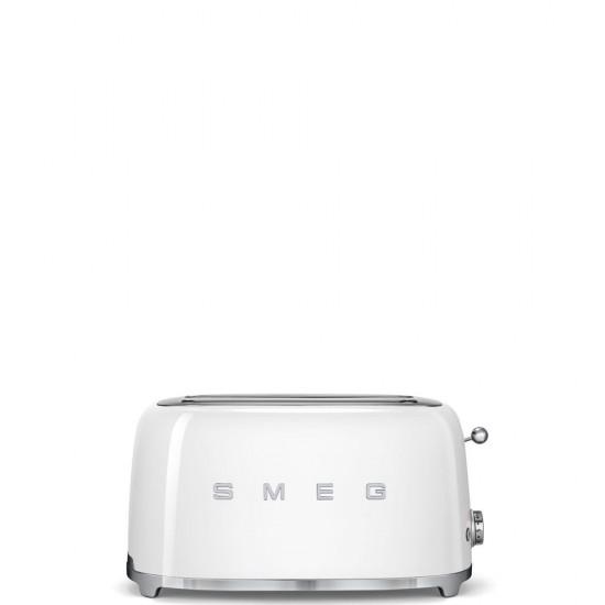 SMEG 4 SLICE TOASTERS WHITE