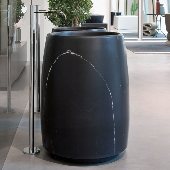 ANTONIO LUPI BARREL FREESTANDING STONE SINK