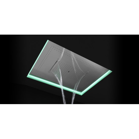 ANTONIO LUPI METEO3C ENCASED SHOWERHEAD LED