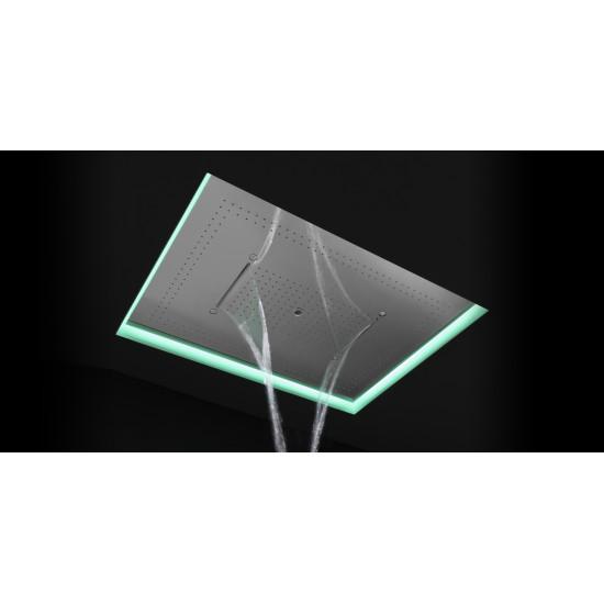 ANTONIO LUPI METEOXXL ENCASED SHOWERHEAD LED