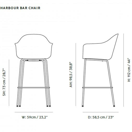 Menu Harbour Bar Chair Upholstery