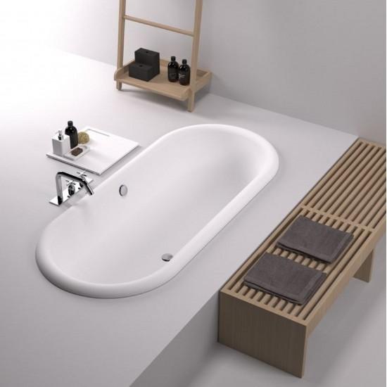 Agape Ottocento Built-in Bathtub