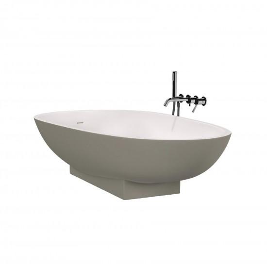 Agape Spoon Freestanding Bathtub