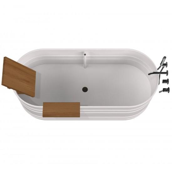 Agape Vieques Freestanding Bathtub