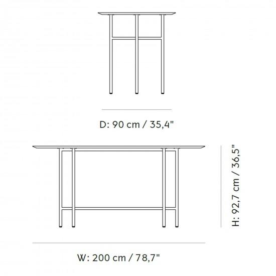 Menu Snaregade Counter Table