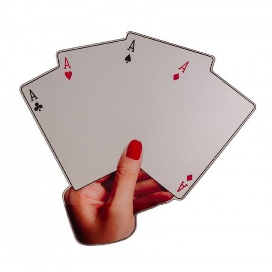 Seletti Shaped Mirror Poker