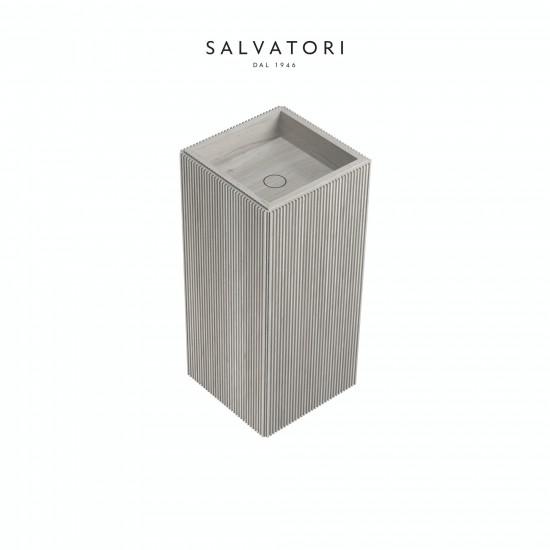Salvatori Adda Lavabo Freestanding Pietra 41X41