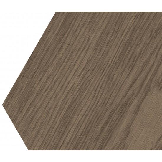 Bisazza Wood Esagono Marron Glacè (E) 202X223