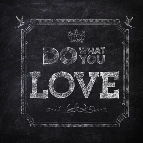 Wall & Decò Do What You Love Wallpaper