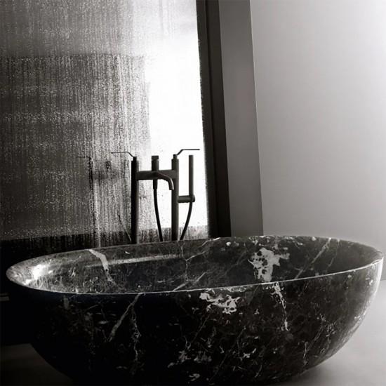 Boffi Fisher Island Stone Freestanding Bathtub