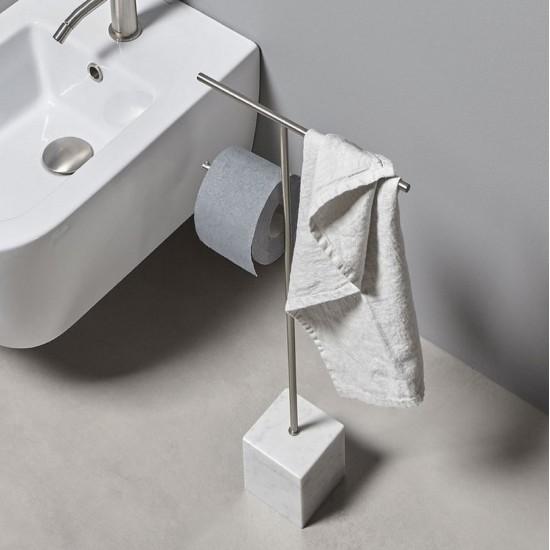 Antonio Lupi Bivio Towel and Paper Holder
