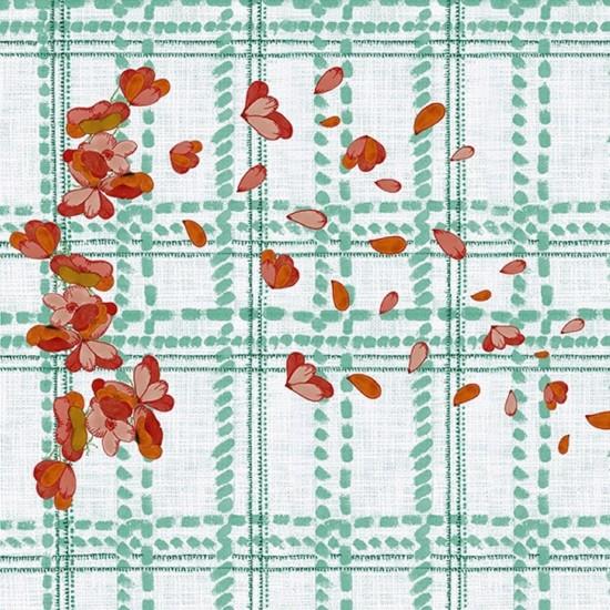 Wall & Decò Scottish Blumen Wallpaper