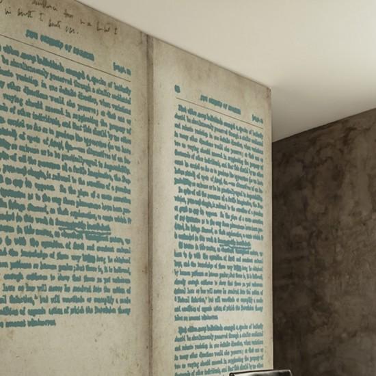 Wall & Decò Wordless Wallpaper