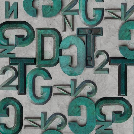 Wall & Decò Bronzo Wallpaper