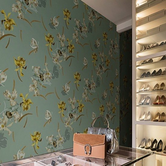 Wall & Deco Ballet Contemporary Wallpaper