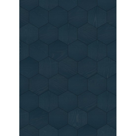 Bisazza Wood Esagono Denim (E) 202X223