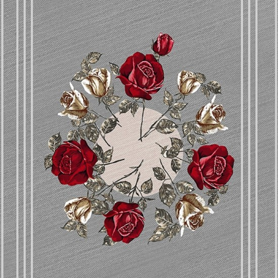 Wall & Deco CANVAS BOUQUET Wallpaper