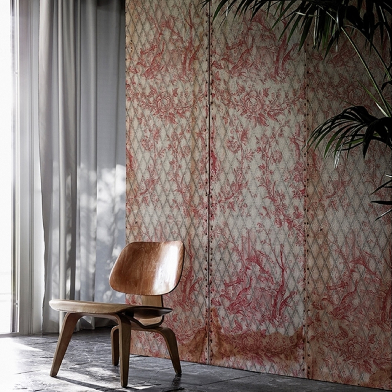 wall deco matelasse 39 wallpaper tattahome. Black Bedroom Furniture Sets. Home Design Ideas