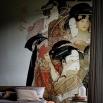 Wall & Deco NOUVEAU GEISHA Wallpaper
