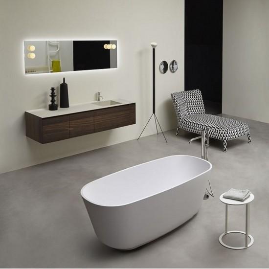 Antonio Lupi Baia Small Oval Bathtub