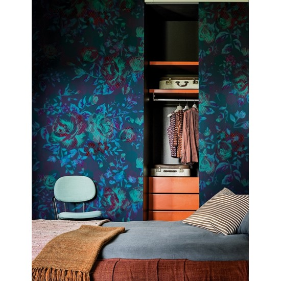 Wall & Deco PAINTILLISE Wallpaper