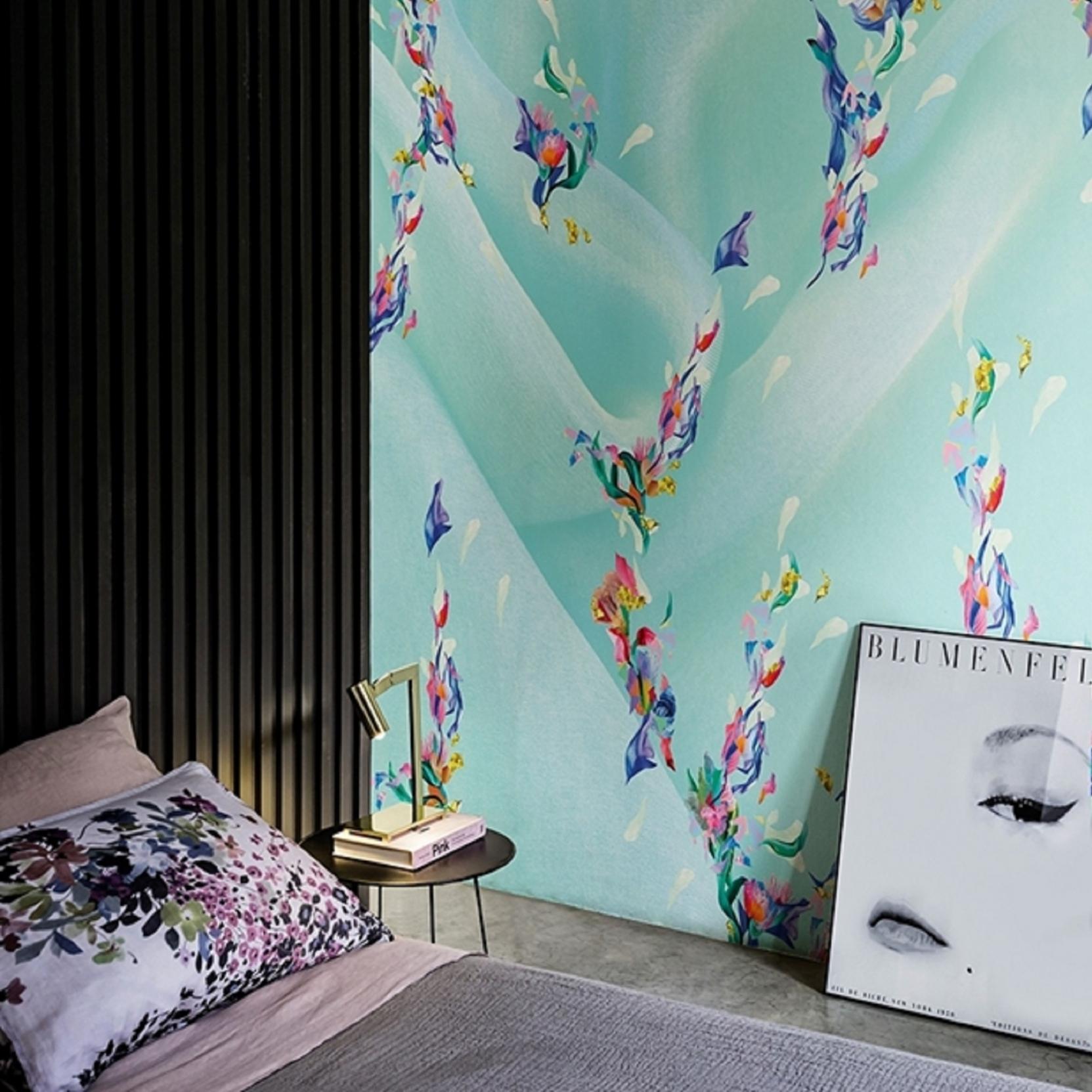 Wall & Deco Rainbow Wallpaper