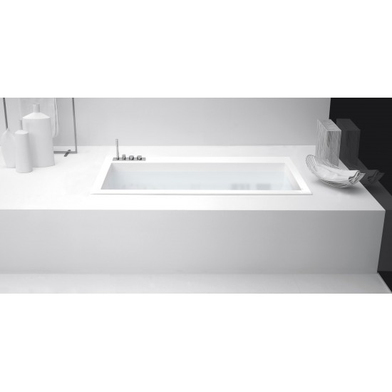 ANTONIO LUPI BIBLIO 20 ENCASED CORIAN BATHTUB