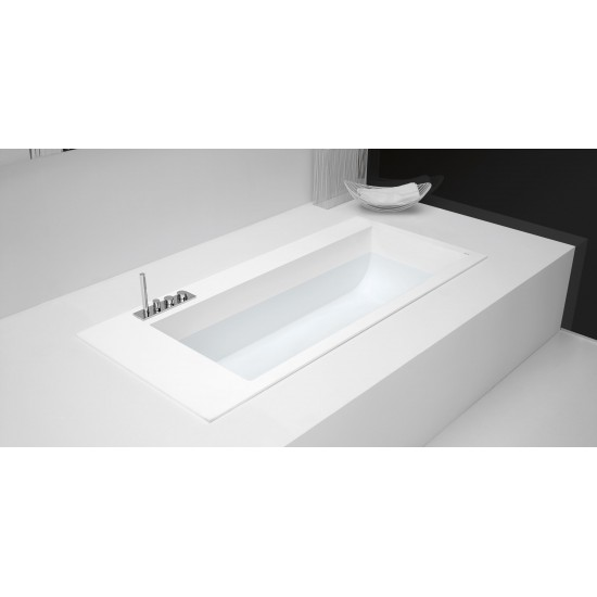 ANTONIO LUPI BIBLIO 21 ENCASED CORIAN BATHTUB