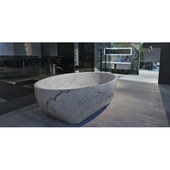 ANTONIO LUPI SOLIDEA OVAL STONE BUTHTUB