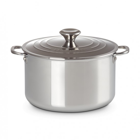 Le Creuset Stainless Stell Casserole with Lid 24