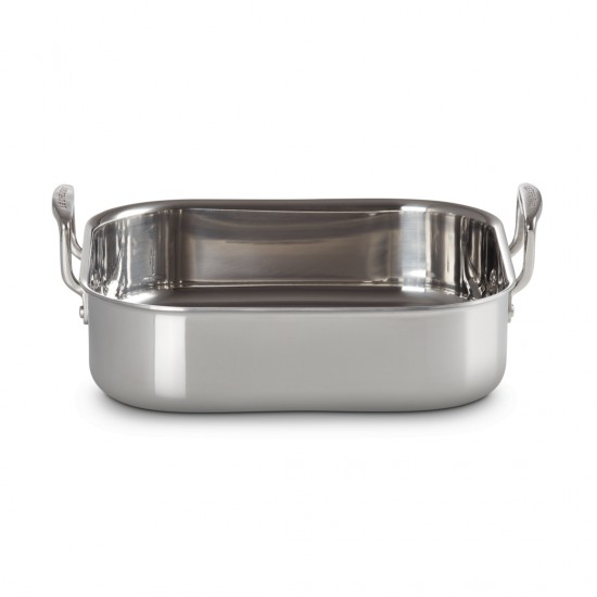 Le Creuset Stainless Steel Square Roaster