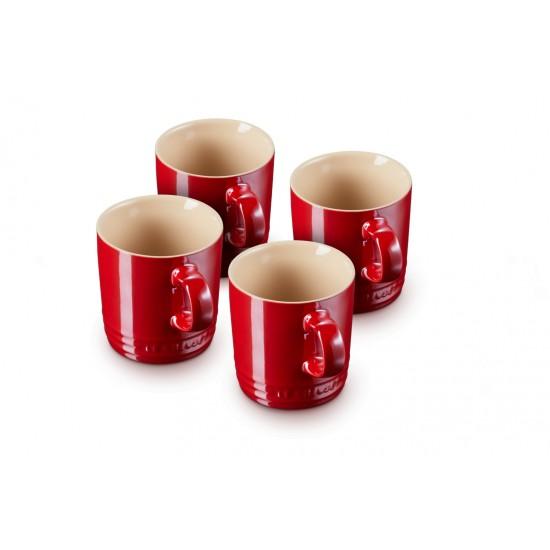 Le Creuset Set 4 Mug Metallics