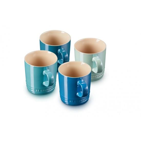 Le Creuset Set 4 Tazze Mug Metallics