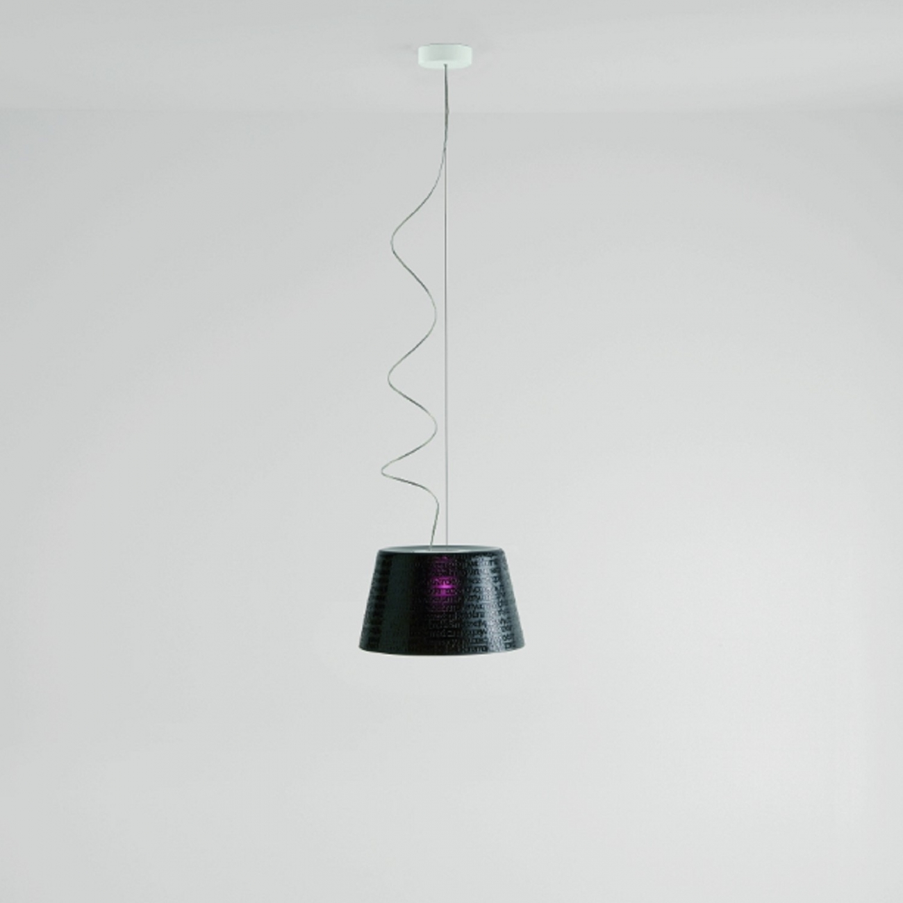 PRANDINA ABC S1 SUSPENDED LAMP BLACK