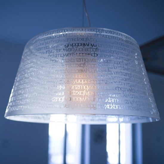 PRANDINA ABC S1 SUSPENDED LAMP CRYSTAL