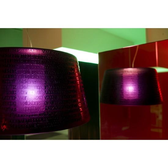 PRANDINA ABC S3 SUSPENDED LAMP BLACK