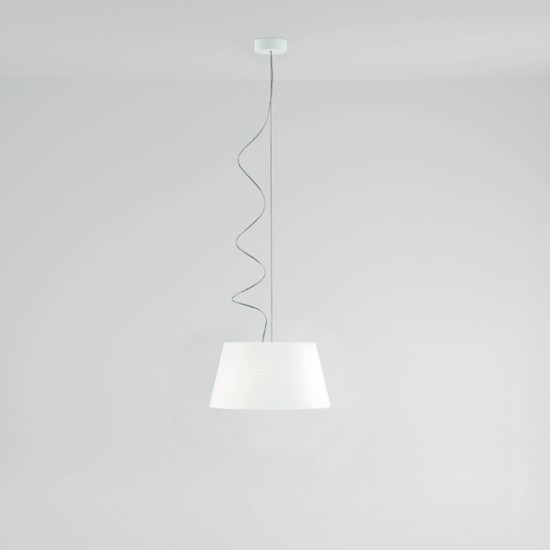 PRANDINA ABC S5 SUSPENDED LAMP WHITE