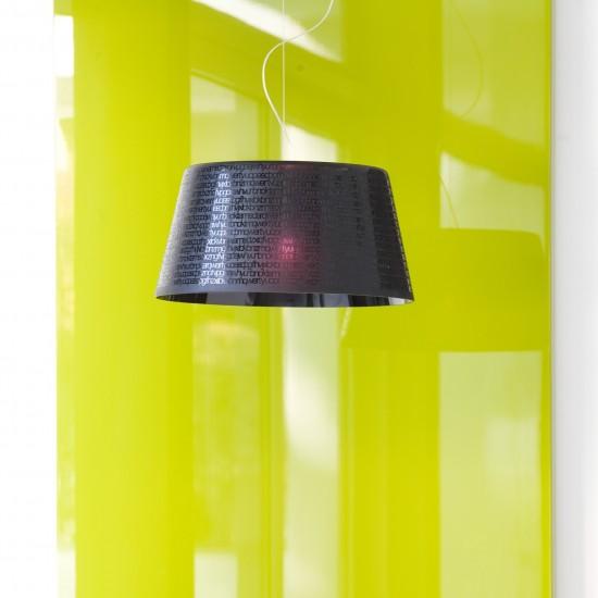 PRANDINA ABC S5 SUSPENDED LAMP BLACK