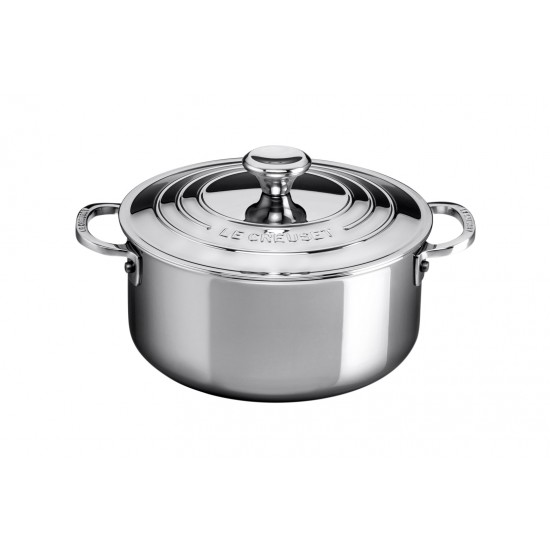 Le Creuset Stainless Steel Casserole with Lid 24