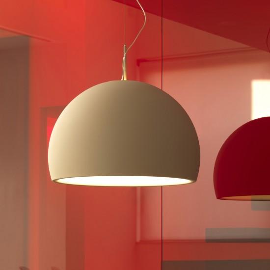PRANDINA BILUNA S5 SUSPENDED LAMP SAND