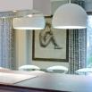 PRANDINA BILUNA S7 LAMPADA A SOSPENSIONE BIANCO LUX