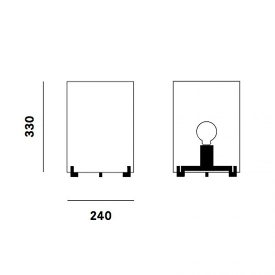 PRANDINA CPL T1 TABLE LAMP