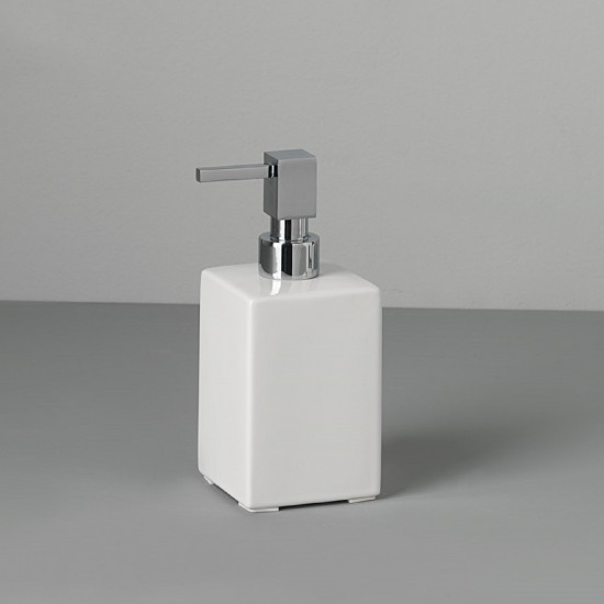 CAPANNOLI TUBE CUBE STANDING SOAP DISPENSER