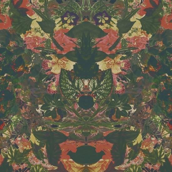 LONDON ART FLOWER POWER WALLPAPER